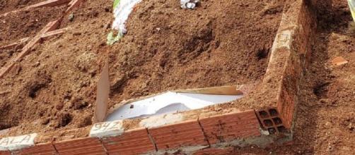 Corpo foi encontrado por familiares. (Polícia Civil/Divulgação)