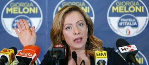 Giorgia Meloni, leader di Fratelli d'Italia