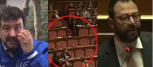 Matteo Salvini, il posto vacante ed il Ministro Patuanelli.