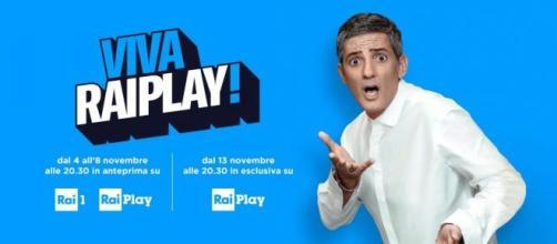 Mercoledì 13 novembre la prima puntata di 'Viva Rai Play' sarà visibile solo in streaming... - bellacanzone.it
