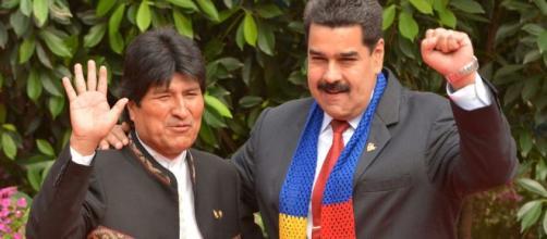Presidente de Venezuela se solidariza con Evo Morales con Evo Morales