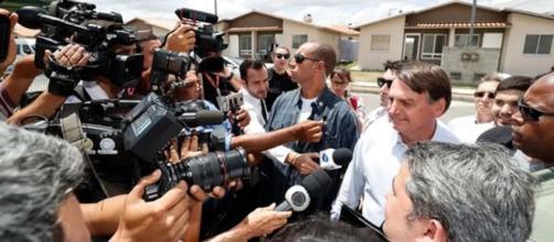 Presidente Jair Bolsonaro entrega 4 mil casas do 'Minha Casa Minha Vida' na Paraíba. (Alan Santos/Presidência da República)