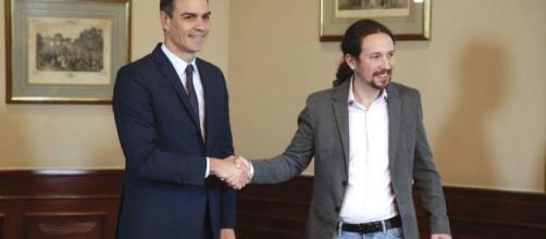 Sánchez y Pablo Iglesias cierran un preacuerdo en tiempo récord