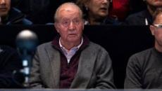 El rey Juan Carlos aparece con una brecha en la cabeza en Londres