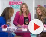It wasn't long before Kathie Lee Gifford brought the love, the laughs, and t-he arm muscles to 'Today' this week. [Image source:TODAY/YouTube]