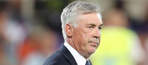 Carlo Ancelotti, ex allenatore del Milan ora sulla panchina del Napoli