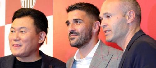 David Villa anuncia que abandona el fútbol
