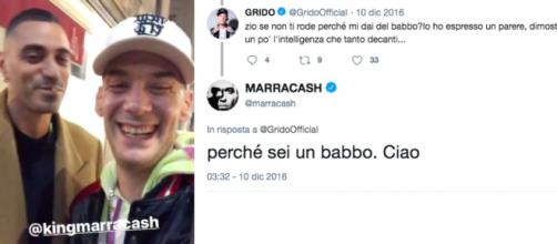 Marracash e Grido, rapper milanesi.