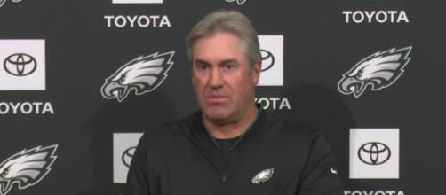 Pederson calls Brady a smart football player. [Image Source: Philadelphia Eagles/YouTube]