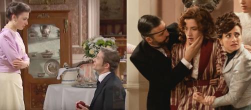 Una Vita anticipazioni: Celia sviene durante la proposta di nozze dell'Alday a Lucia