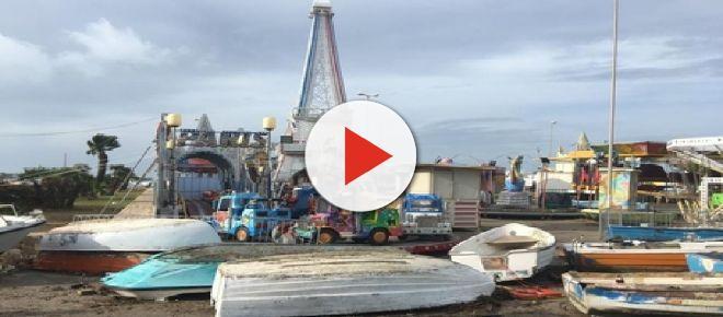 Salento, il maltempo provoca grossi danni a Porto Cesareo: pontili e barche distrutti