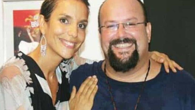 Monica lamenta morte do irmão Jesus Sangalo e diz que pode ter morrido de mágoa