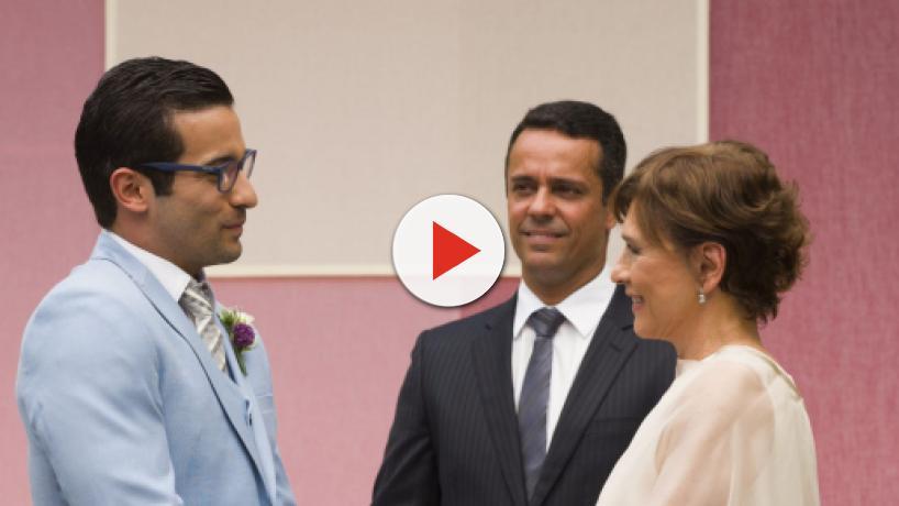 'A Dona do Pedaço': Beatriz e Zé Hélio oficializam união