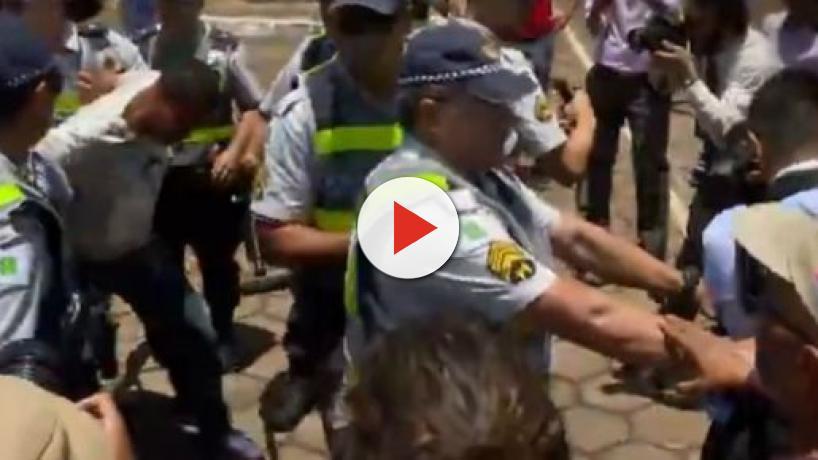 Embaixada da Venezuela é invadida no dia em que se inicia a Cúpula do Brics em Brasília