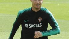 La Juve in ansia per il ginocchio di Ronaldo ma lui sarà in campo contro la Lituania