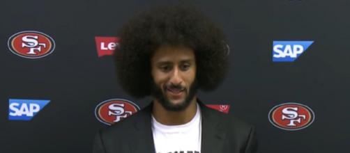 Kaepernick played 69 games with the 49ers before he opted out of his deal in 2017 (Image Credit: San Francisco 49ers/YouTube)