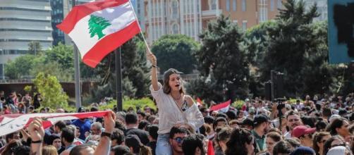 La revolución del Whatsapp incendia las calles del Líbano. / elmundo.es