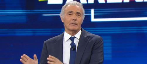 Massimo Giletti, presentatore e tifoso della Juve.