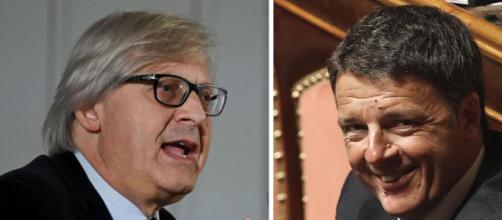 Mose, Sgarbi critica Renzi per la mancata costruzione