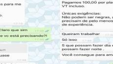Em Minas Gerais, vaga de emprego que veta 'negras e gordas' vira caso de polícia