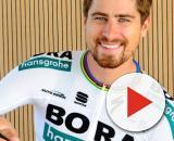 Peter Sagan, uomo copertina della Bora Hansgrohe