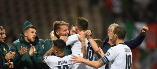 Bosnia-Italia 0-3, la gioia incontenibile degli azzurri alla decima vittoria consecutiva