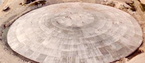 'La Tumba', la estructura de las Islas Marshall que se está rompiendo.