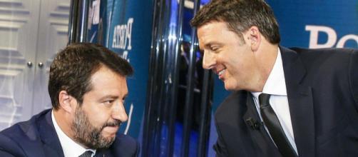 Matteo Renzi tende la mano a Matteo Salvini