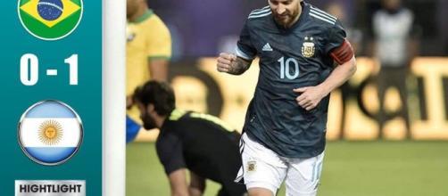 Messi marca tras varios meses de suspensión (Foto: youtube.com)