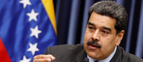 Nicolás Maduro durante una comparecencia.