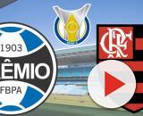 Grêmio x Flamengo: transmissão ao vivo na TV Aberta e pay-per-view. (Fotomontagem)