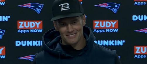 Brady said he's been friends with the Lakers superstar for a long time (Image Credit: New England Patriots/YouTube)