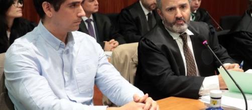 Rodrigo Lanza es declarado culpable por la muerte de un hombre por sus tirantes