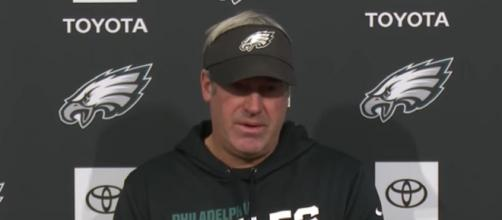 The Patriots will try to get back at Pederson (Image Credit: Philadelphia Eagles/YouTube)