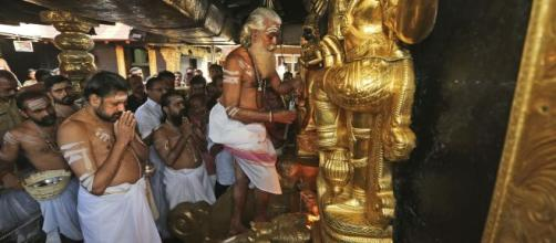 The Sabarimala shrine triggered the SC decision for wider bench- (image credit BBC/youtube)