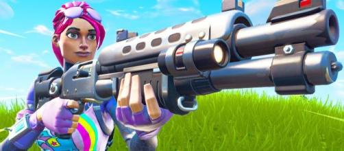 The Tactical Shotgun has been buffed with the last 'Fortnite' update. [Image Source: In-game screenshot]