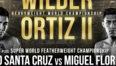 Boxe: sabato 23 novembre a Las Vegas Wilder contro Ortiz nell'attesa rivincita mondiale