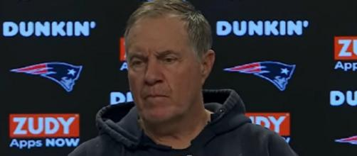 Belichick is praised for his ability to fix problems (Image Credit: New England Patriots/YouTube)