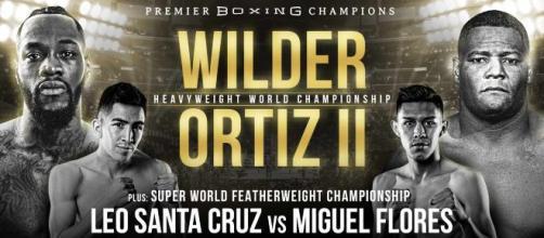 Deontay Wilder vs Luis Ortiz 2 a Las Vegas
