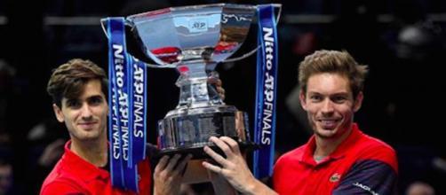 Masters : La paire Mahut-Herbert emporte leur 5ème titre majeur. Credit: Instagram/nicomahut