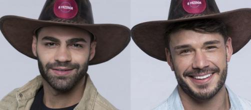 O clima entre Netto e Lucas esquentou em 'A Fazenda 11'. (Reprodução/Record TV)