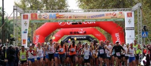Partenza della XXV Maratona di Palermo