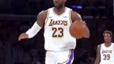 Com ótima atuação de LeBron James, Lakers ganha do Atlanta Hawks por 122 a 101