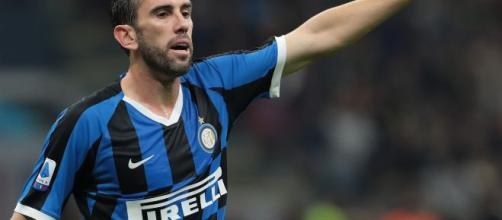 Diego Godin, difensore dell'Inter.