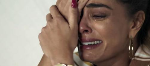 Maria da Paz ficará emocionada com pedido de perdão da filha em 'A Dona do Pedaço'. (Arquivo Blasting News)
