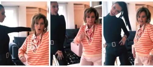 María Teresa Campos da la nota bailando reguetóEl vídeo de María Teresa Campos bailando por Maluma con su nietan con su nieta ... - vozpopuli.com