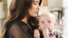 Beautiful, spoiler Usa: Steffy potrebbe richiedere l'affido di Beth grazie a Thomas