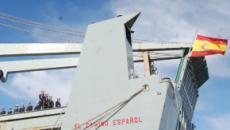 Adiós a un veterano: La Armada da de baja al buque de transporte 'El Camino Español'