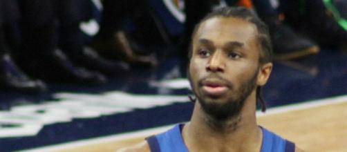 Andrew Wiggins could suit up for Wolves against the Jazz. [Image credit: Wikimedia Commons/SusanLesch]