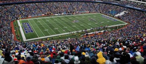 Buffalo Bills stadium [Image credit: Wikimedia Commons/mikefats]